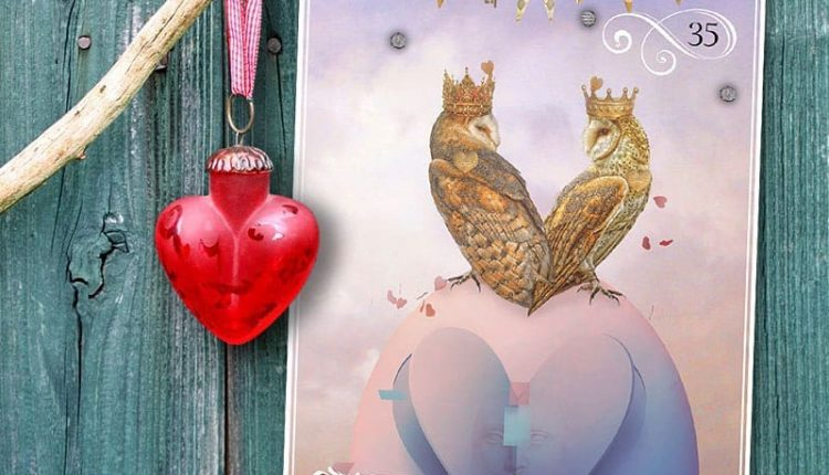 Wisdom Of The Oracle Divination Cards – Lá Số 35: Loyal Heart