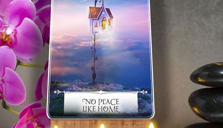 Wisdom Of The Oracle Divination Cards – Lá Số 50: No Place Like Home