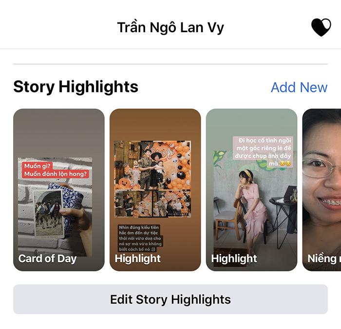Lá Bài Hằng Ngày Với Facebook Story 3