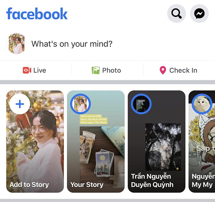 Lá Bài Hằng Ngày Với Facebook Story 1