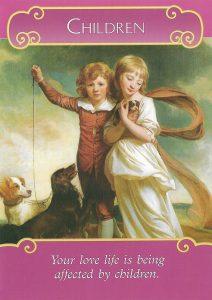 Romance Angels Oracle - Lá Bài Children 1