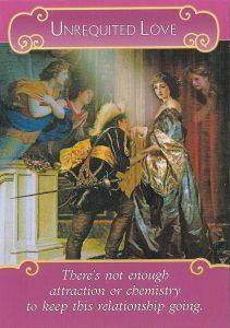 Romance Angels Oracle – Lá Bài Unrequited Love 1