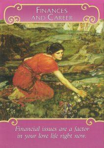 Romance Angels Oracle - Lá Bài Finances and Career 1