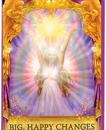 Angel Answers Oracle Cards – Big, Happy Changes
