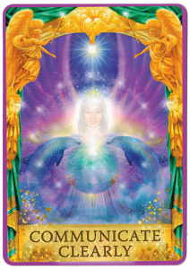 Angel Answers Oracle Cards - Communicate Clearly 1