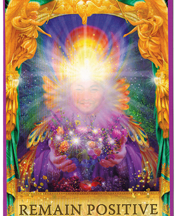 Angel Answers Oracle Cards – Remain Positive