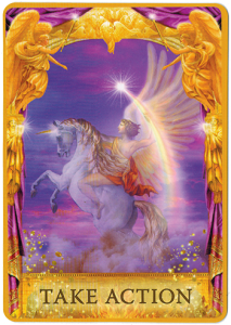 Angel Answers Oracle Cards – Take Action 1