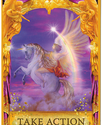 Angel Answers Oracle Cards – Take Action