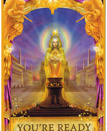 Angel Answers Oracle Cards – You're Ready