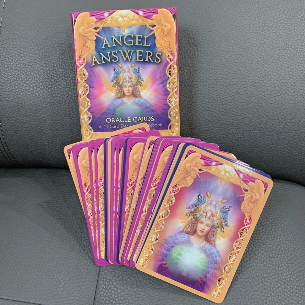 Angel Answers Oracle Cards - Sách Hướng Dẫn 4