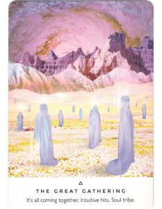 Work Your Light Oracle – The Great Gathering 1