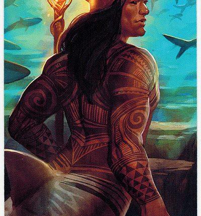 Mermaid Tarot – King of Wands