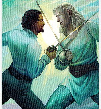 Mermaid Tarot – 2 of Swords