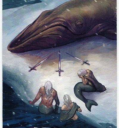 Mermaid Tarot – 3 of Swords