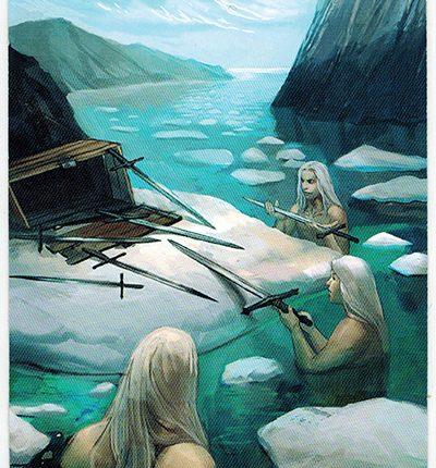 Mermaid Tarot – 7 of Swords