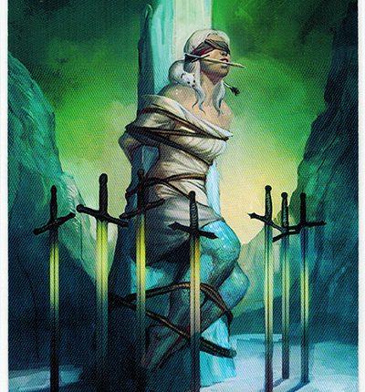 Mermaid Tarot – 8 of Swords