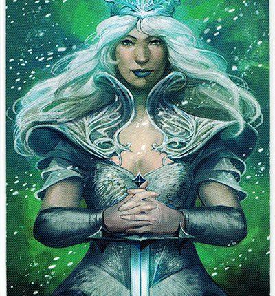 Mermaid Tarot – Queen of Swords