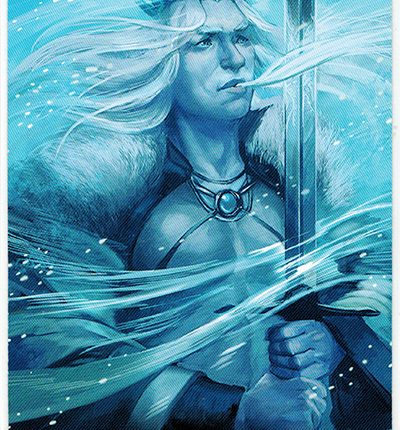Mermaid Tarot – King of Swords