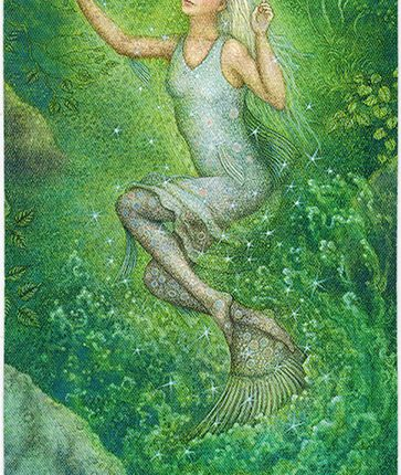 Forest of Enchantment Tarot – Weaver of Visions