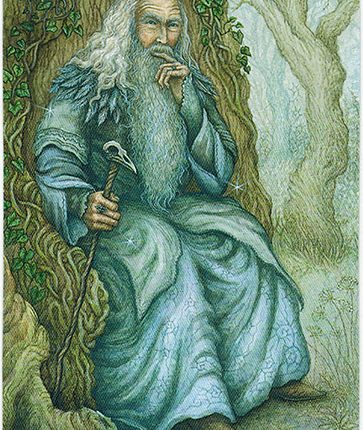 Forest of Enchantment Tarot – Keeper of Challenges