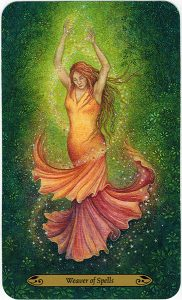 Forest of Enchantment Tarot - Weaver of Spells 1