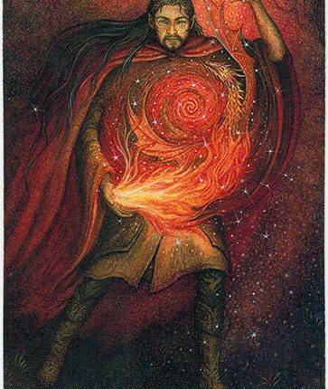 Forest of Enchantment Tarot – Keeper of Spells