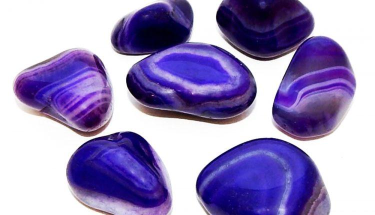 Danh Sách Các Loại Tinh Thể: Agate, Purple Dyed