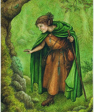 Forest of Enchantment Tarot – Seeker of Boons
