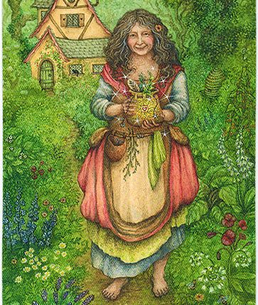 Forest of Enchantment Tarot – Weaver of Boons
