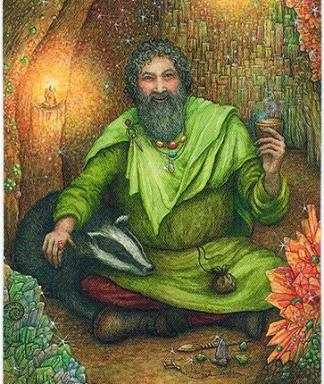 Forest of Enchantment Tarot – Keeper of Boons