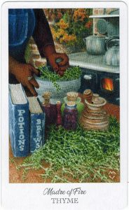 The Herbcrafter's Tarot – Madre Of Air 1