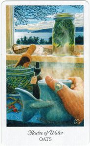 The Herbcrafter's Tarot – Madre Of Water 1