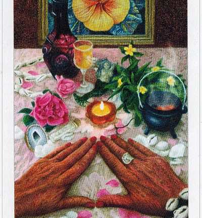The Herbcrafter's Tarot – Curandera Of Fire