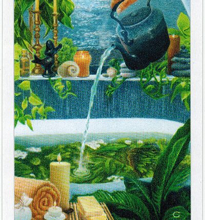 The Herbcrafter's Tarot – Curandera Of Water